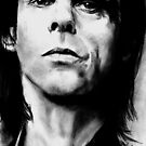 Nick Cave by dmbarnham