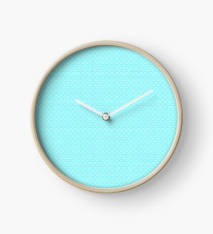 Aqua Blue Clock