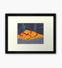 Communication Breakdown Framed Print