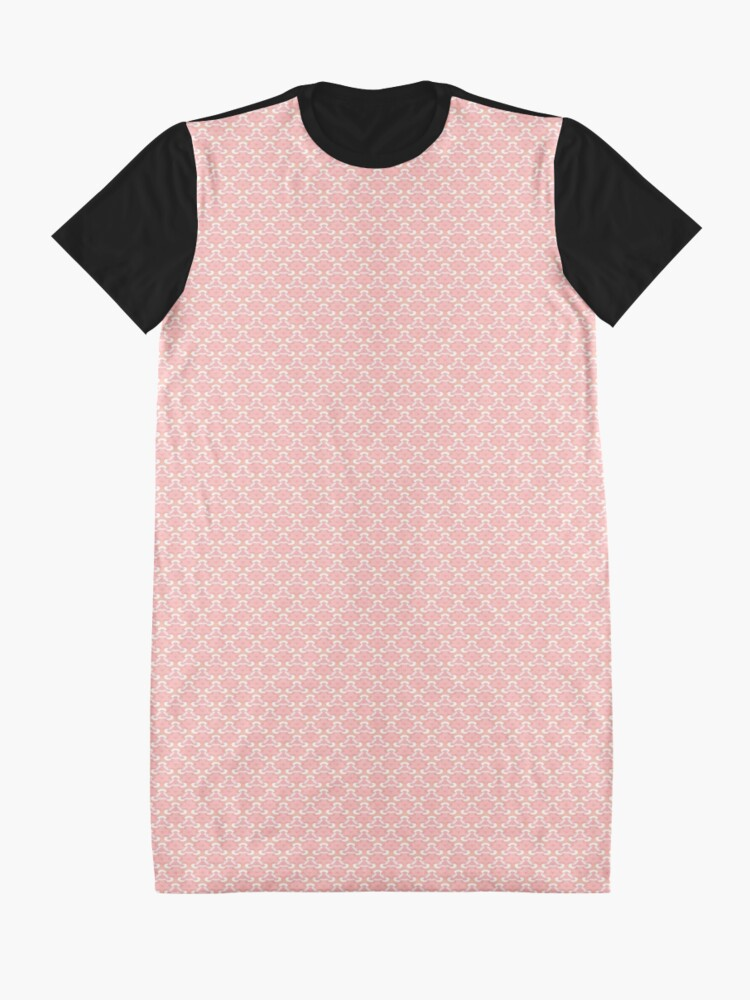 Alternate view of Pale Rose by Julie Everhart Graphic T-Shirt Dress