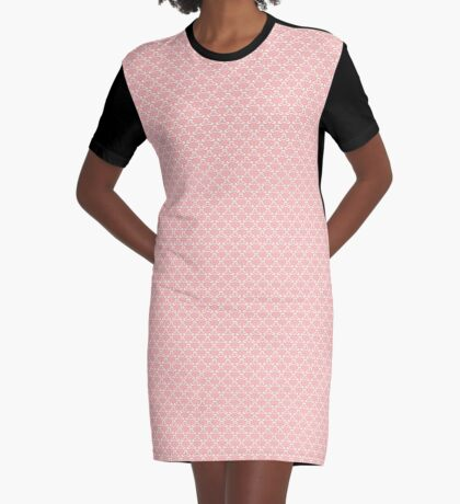 Pale Rose by Julie Everhart Graphic T-Shirt Dress