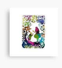 Alice Galaxy Canvas Print