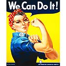 We Can Do It! (1943) - US Wartime Propaganda Poster by 45thAveArtCo