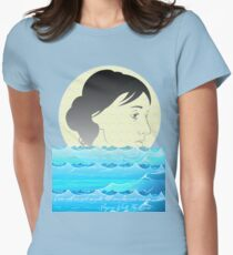 I am not one and simple, but complex and many. -Virginia, The Waves  Womens Fitted T-Shirt