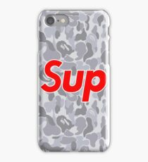 Sup Camoo snow edition iPhone Case/Skin