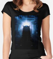 Dalek-tronic Women's Fitted Scoop T-Shirt