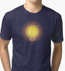 Light Bulb - OneShot Tri-blend T-Shirt