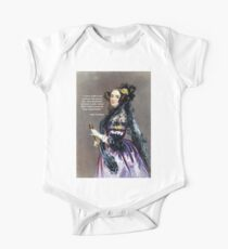 Ada Lovelace (Portrait by Alfred Chalon) Kids Clothes