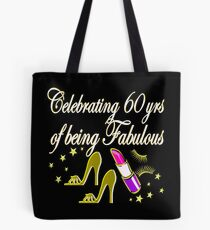 GORGEOUS GOLD 60TH BIRTHDAY FASHION QUEEN DESIGN Tote Bag