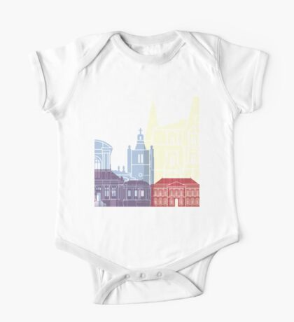 Le Havre skyline poster One Piece - Short Sleeve