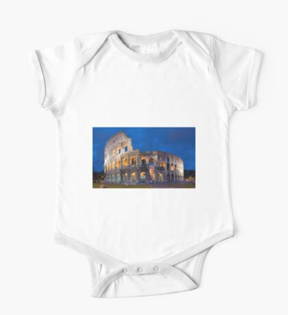 Colosseum At Night One Piece - Short Sleeve