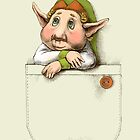Cute pocket elf by elinakious