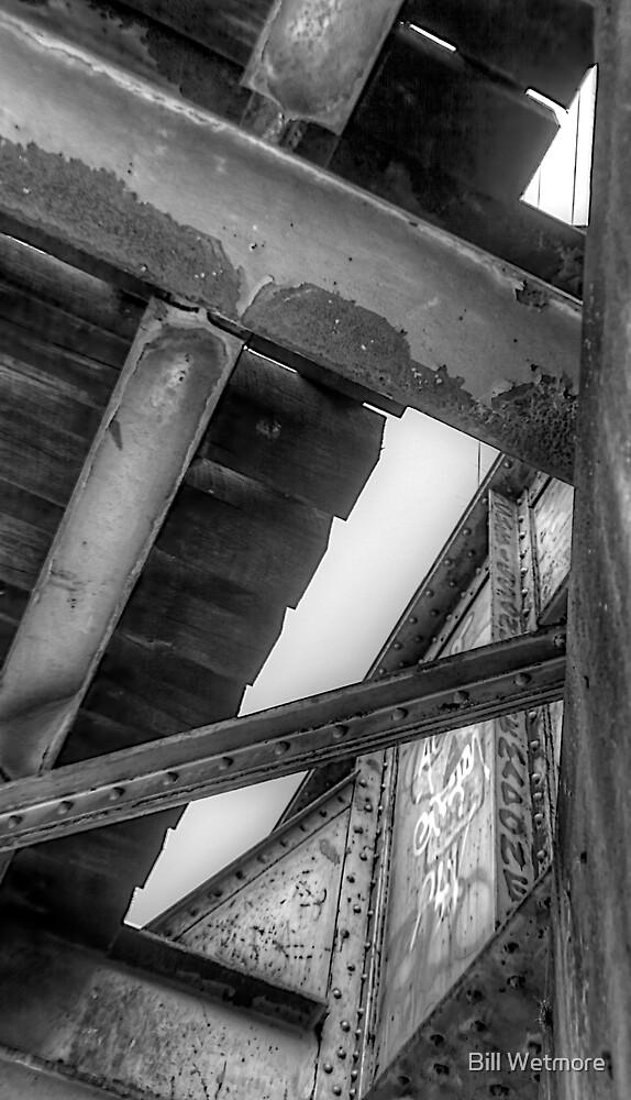 Underneath- a view from under a CSR Railroad Girder Bridge by Bill Wetmore