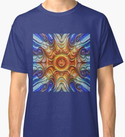 Frozen Sun #DeepDream #Art Classic T-Shirt