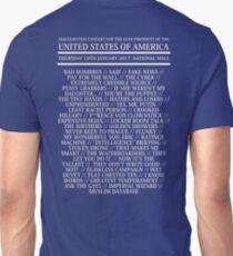 Inauguration Line Up Unisex T-Shirt