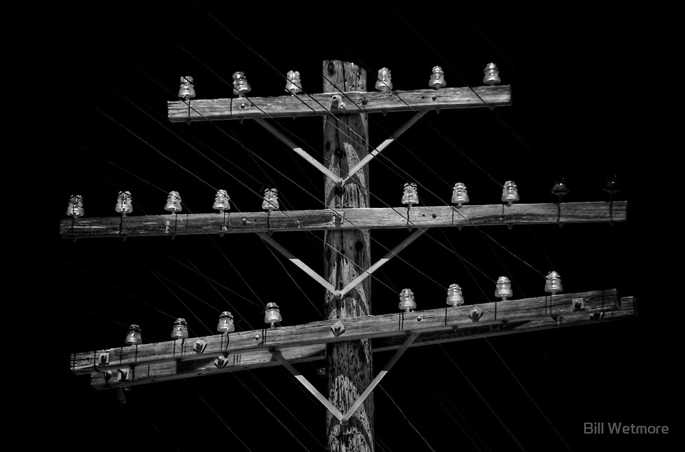 Telegraph Line by Bill Wetmore