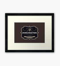 Winchester, Cold Pint, Wait Framed Print