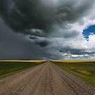 Prairie Summer Road by IanMcGregor