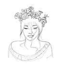 Flower Crown by ria-draws