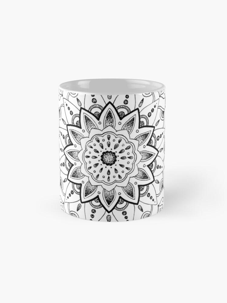 Alternative Ansicht von Friedliche Mandala Tassen