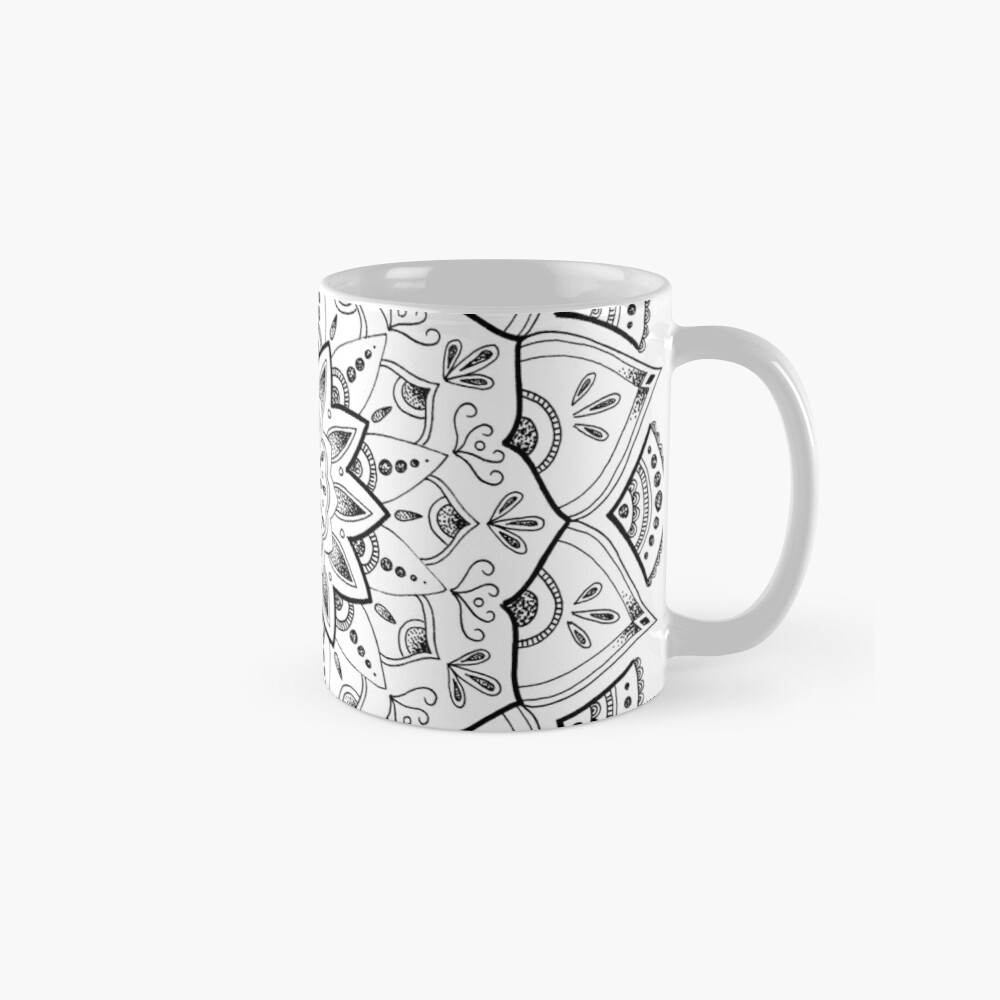 Friedliche Mandala Tassen