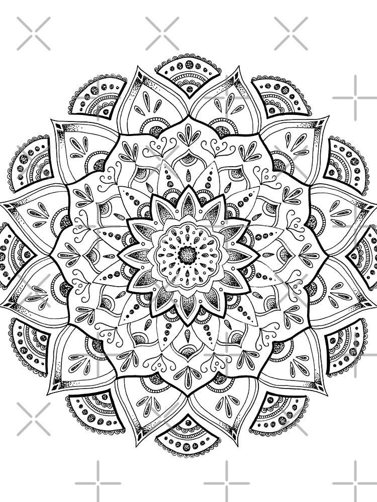 Friedliche Mandala von georgiamason