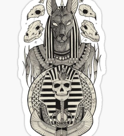 Anubis. Sticker