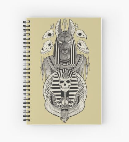 Anubis. Spiral Notebook
