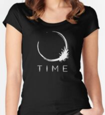 Arrival - Time White Women's Fitted Scoop T-Shirt