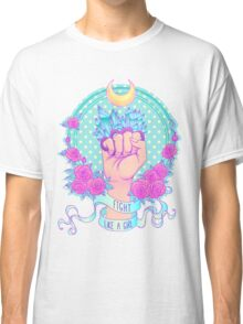 Fight Like A Girl T-shirt Classique