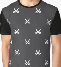 Scissors pattern Graphic T-Shirt