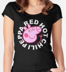Red Hot Chili Peppa Women's Fitted Scoop T-Shirt