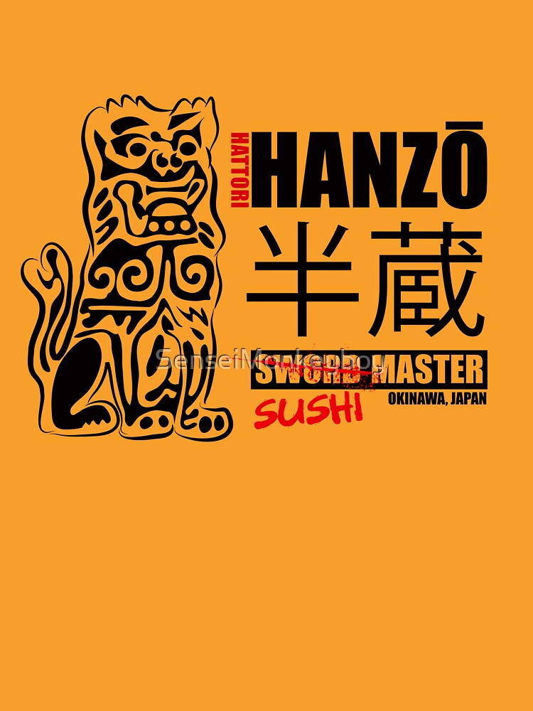 Mata a Bill Hattori Hanzō Sword Master de SenseiMonkeyboy