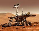 Künstlerische Wiedergabe von Mars Rover. von StocktrekImages