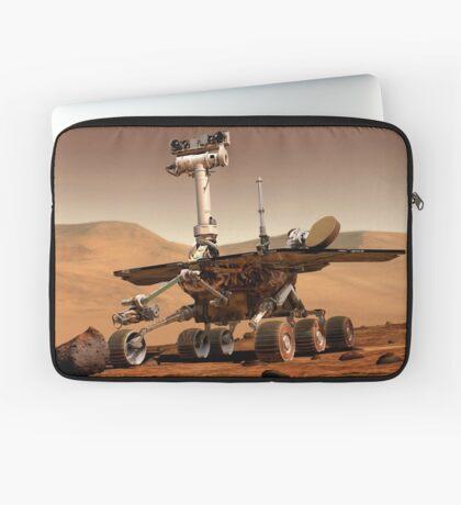 Künstlerische Wiedergabe von Mars Rover. Laptoptasche