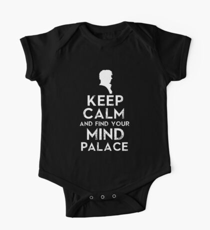 Keep Calm And Find Your Mind Palace One Piece - Short Sleeve