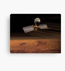 Mars Aufklärer Orbiter Leinwanddruck
