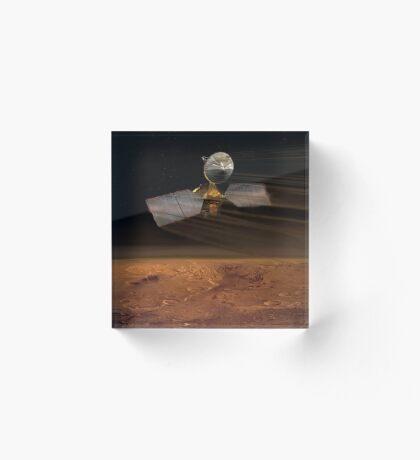 Mars Aufklärer Orbiter Acrylblock