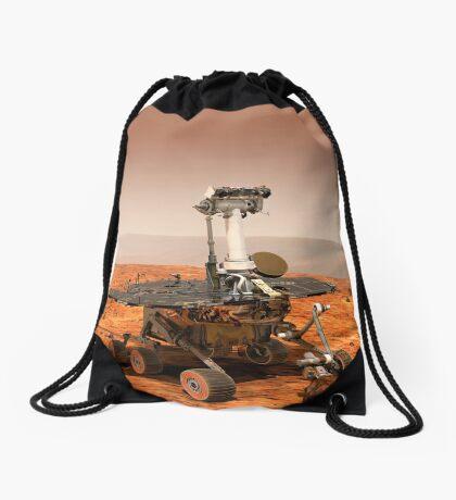 Künstler-Wiedergabe von Mars Rover Turnbeutel