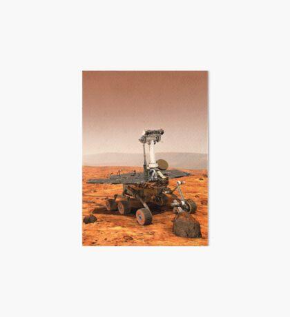 Künstler-Wiedergabe von Mars Rover Galeriedruck