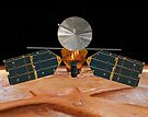 Künstlerisches Konzept des Mars Reconnaissance Orbiter. von StocktrekImages