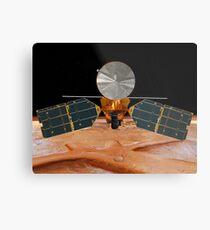 Künstlerisches Konzept des Mars Reconnaissance Orbiter. Metallbild