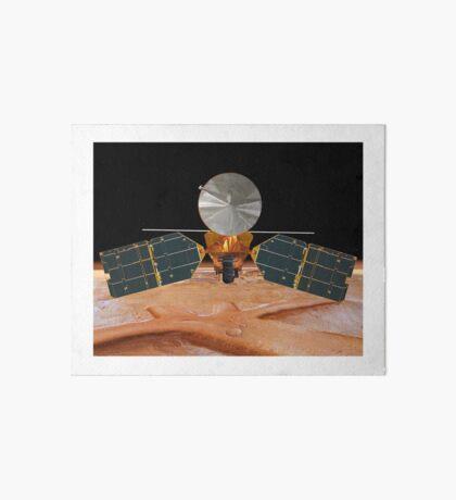 Künstlerisches Konzept des Mars Reconnaissance Orbiter. Galeriedruck