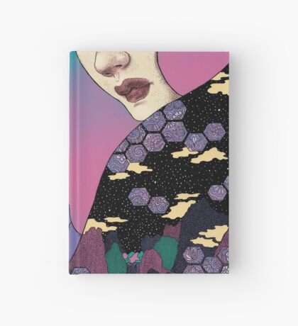 Boreal wolf Hardcover Journal