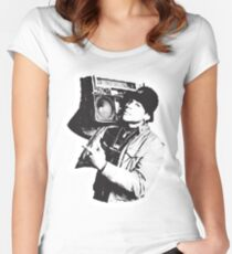 LL Cool J Women's Fitted Scoop T-Shirt