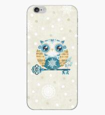Winter Wonderland Owl iPhone Case