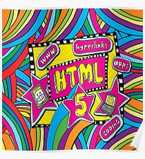 HTML5 - COMPUTER CODING Poster