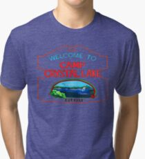 crystal lake Tri-blend T-Shirt