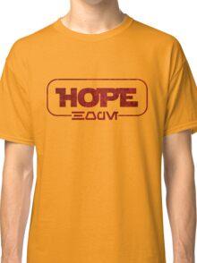 Hope (Aurebesh) Classic T-Shirt