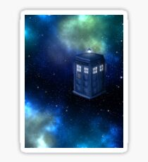 A Life Among The Distant Stars- Doctor Who, Tardis,  Sticker